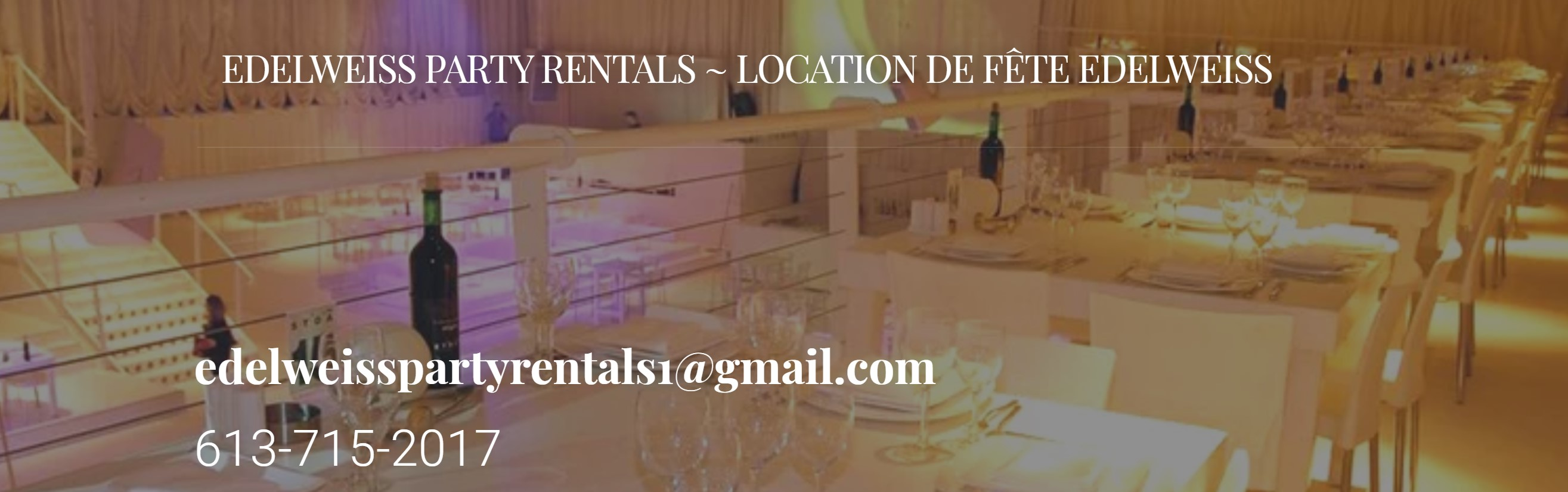 Edelweiss Party Rentals